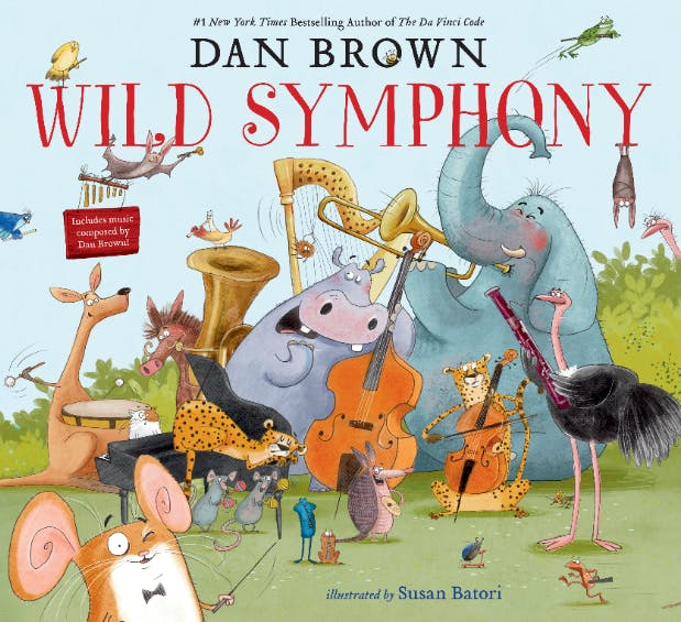Wild Symphony picture book by Dan Brown