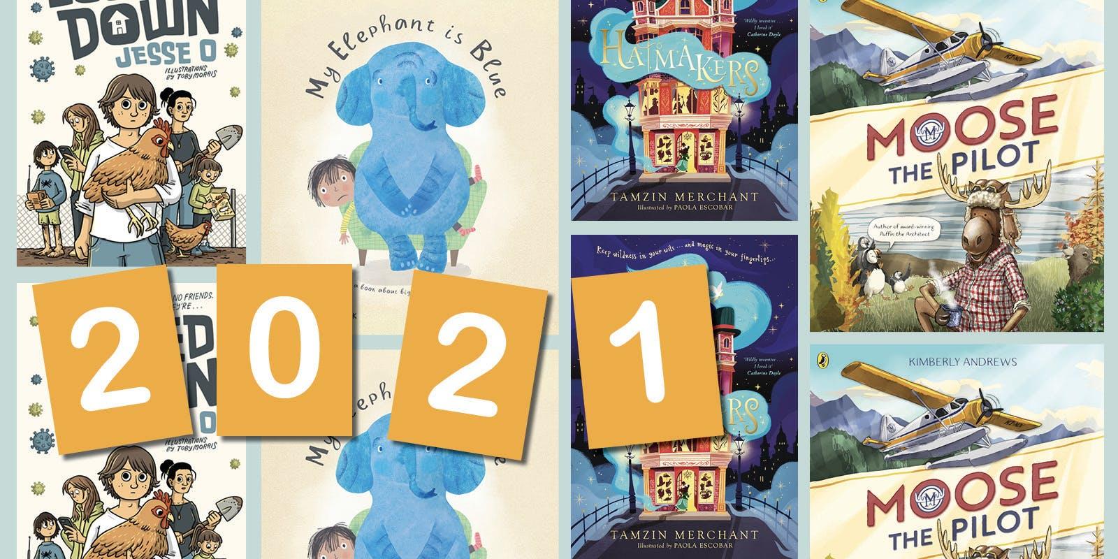 A sneak peek at our 2021 kids books!