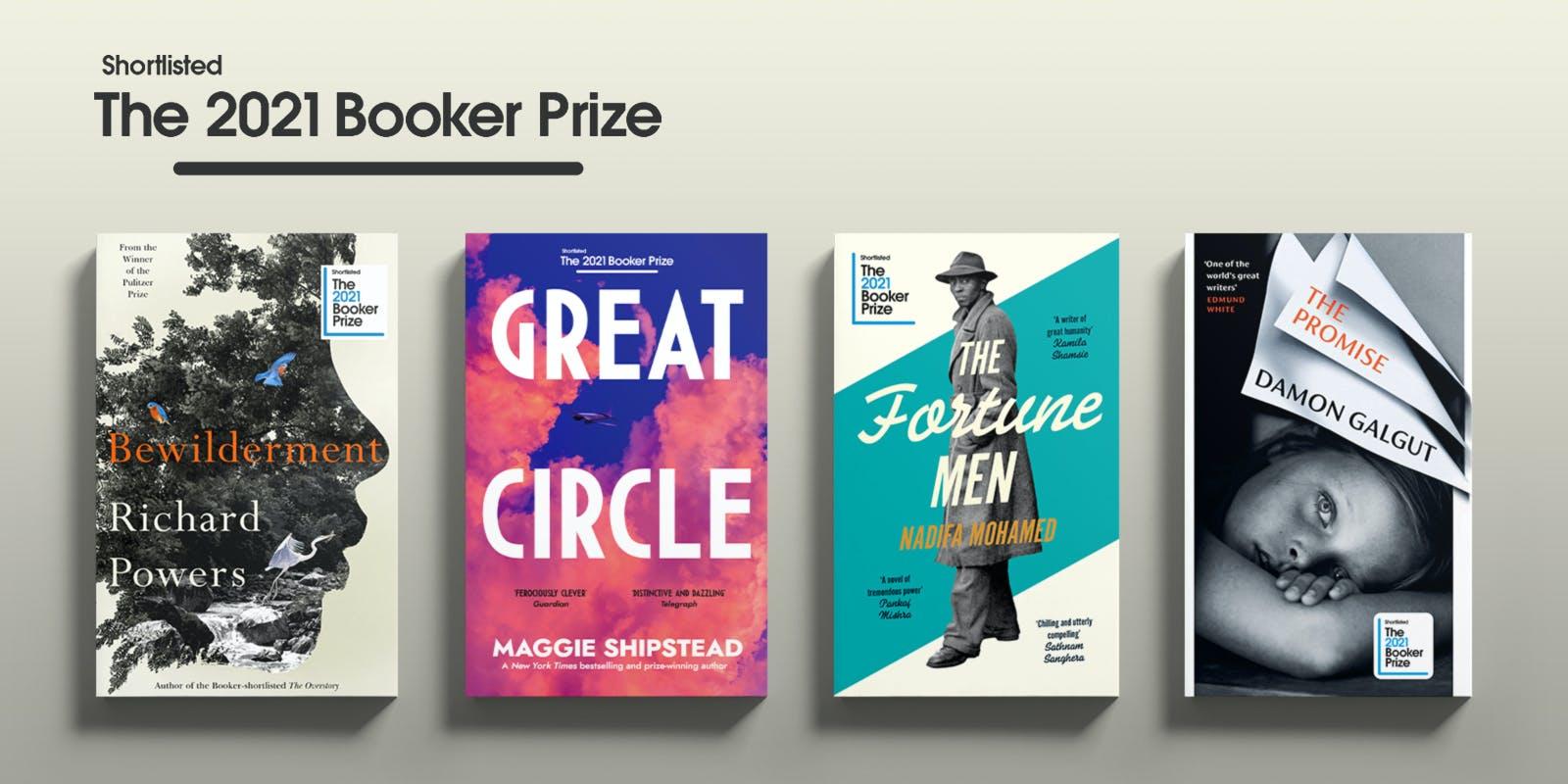 The 2021 Booker Prize shortlist revealed