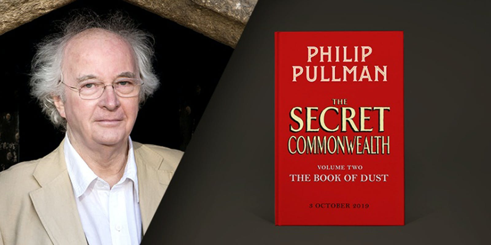 Philip Pullman announces new book The Secret Commonwealth