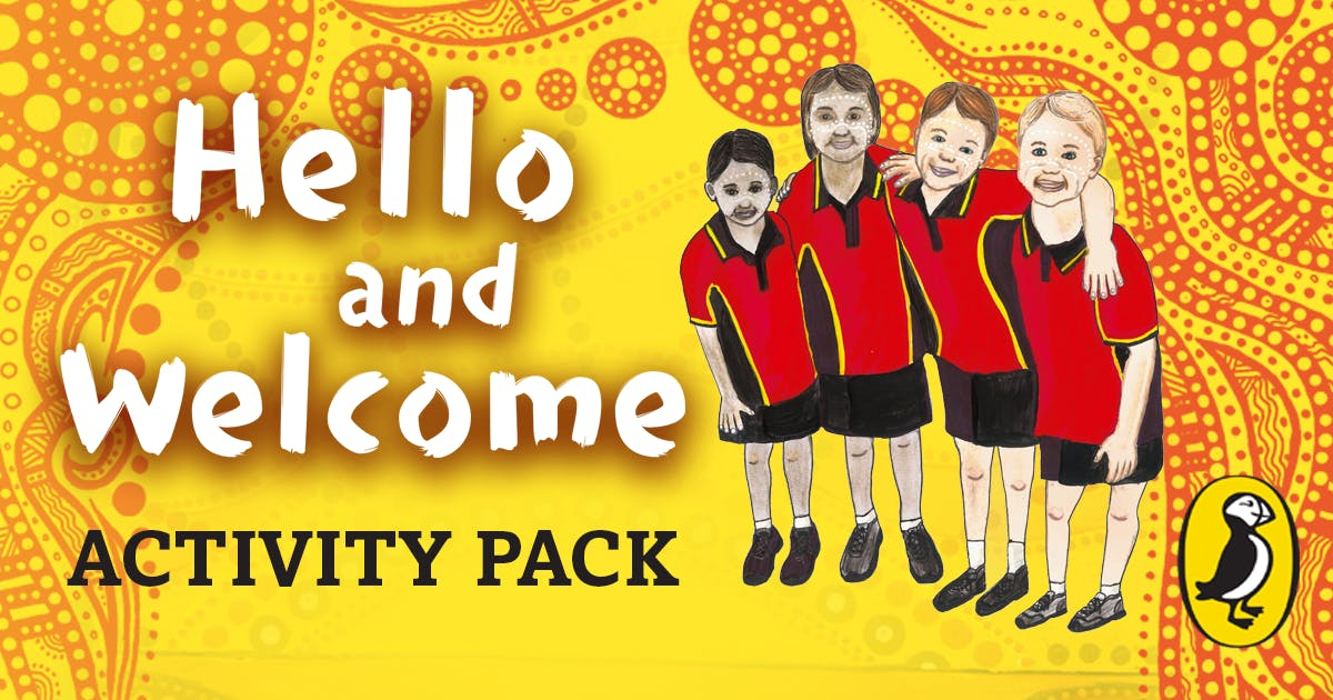 Hello and Welcome activity pack