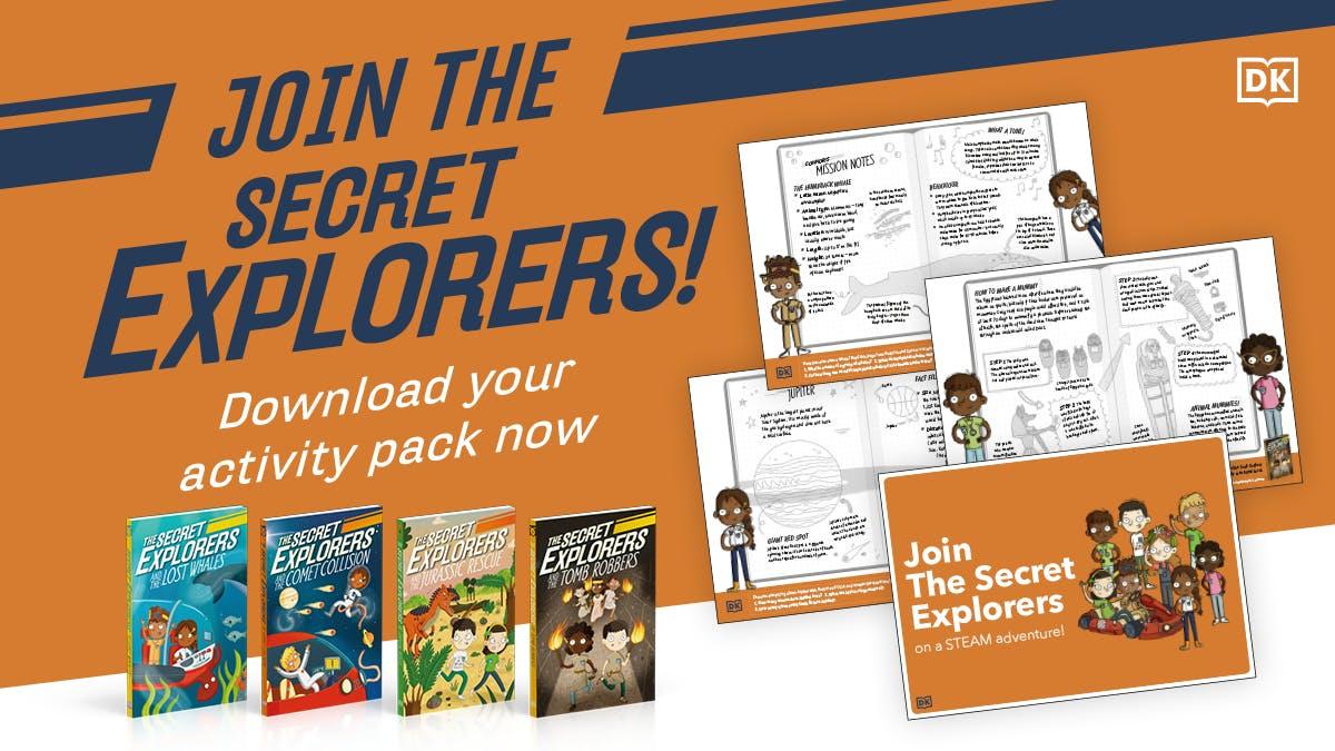 The Secret Explorers activity pack