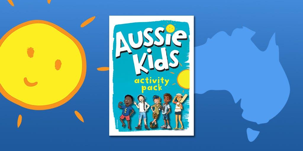 Aussie Kids activity pack