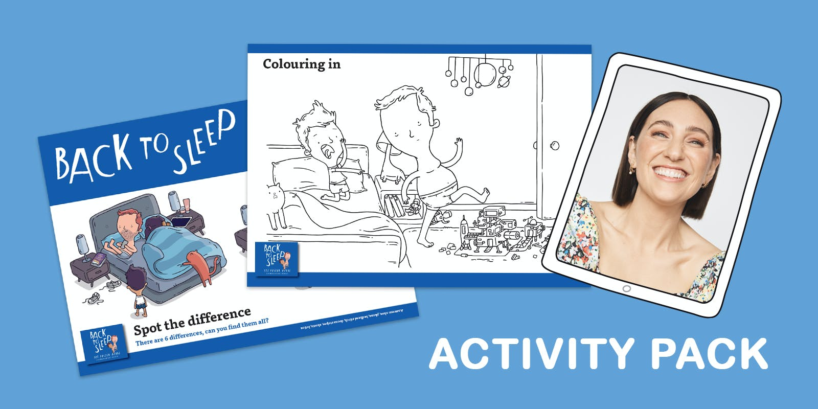 Back to Sleep Activity Pack