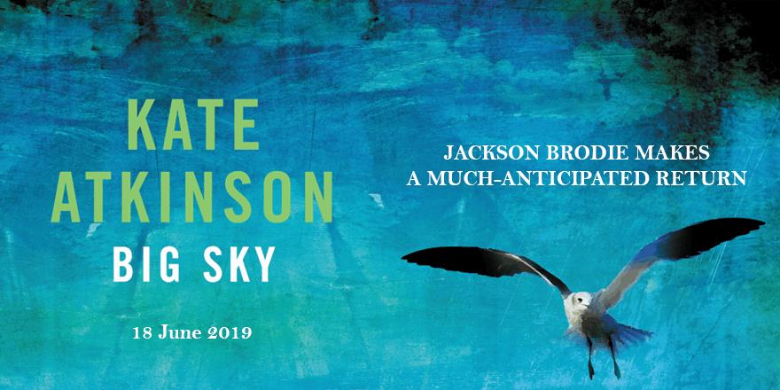 New Jackson Brodie novel by Kate Atkinson