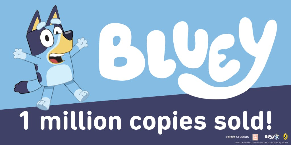One million Bluey books sold in Australia