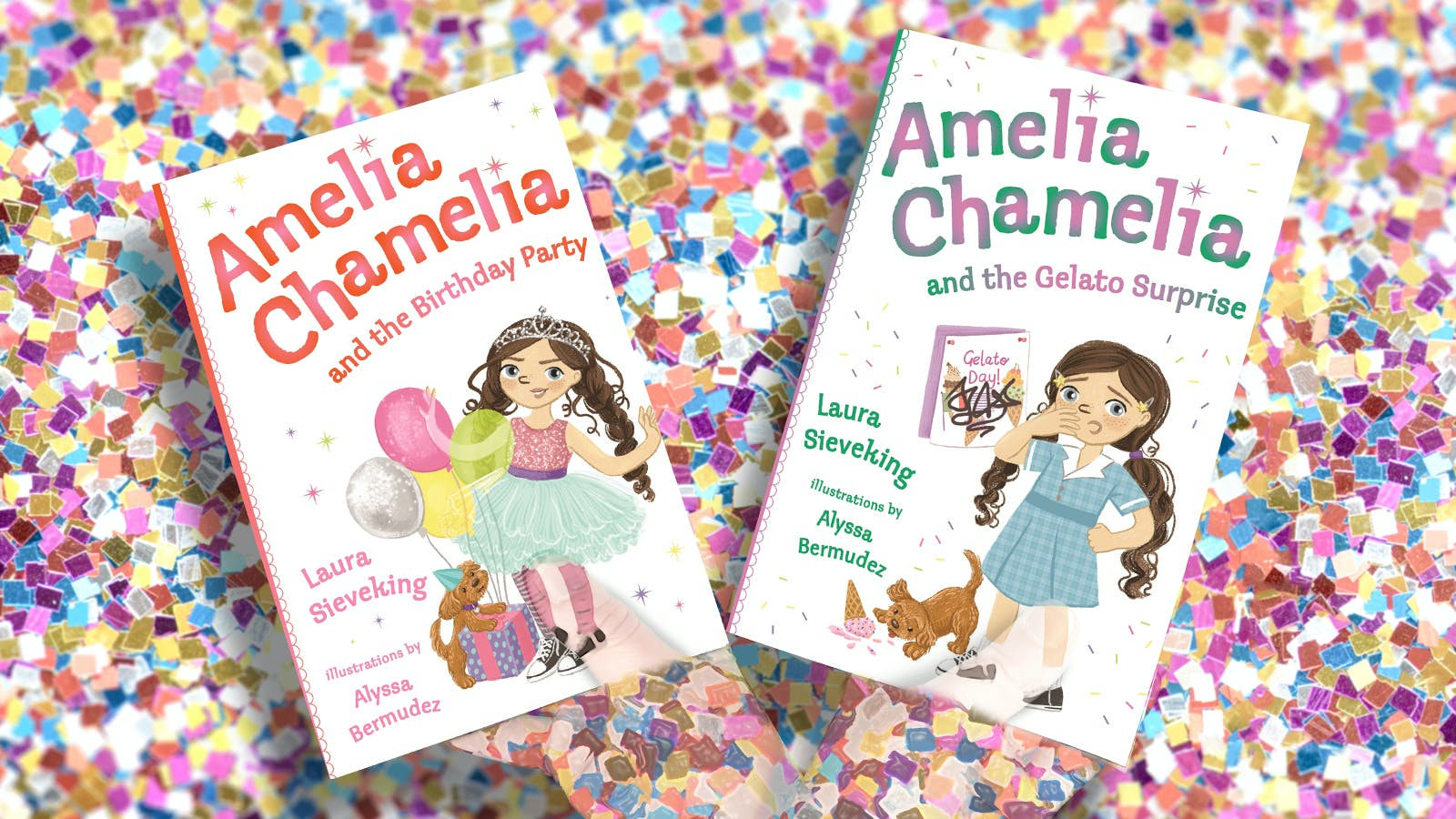 Amelia Chamelia party pack