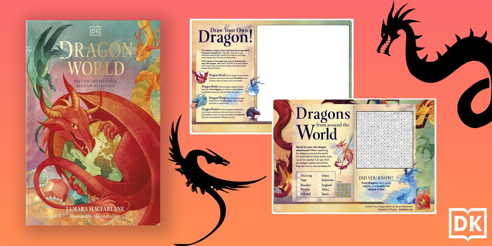 Dragon World activity pack