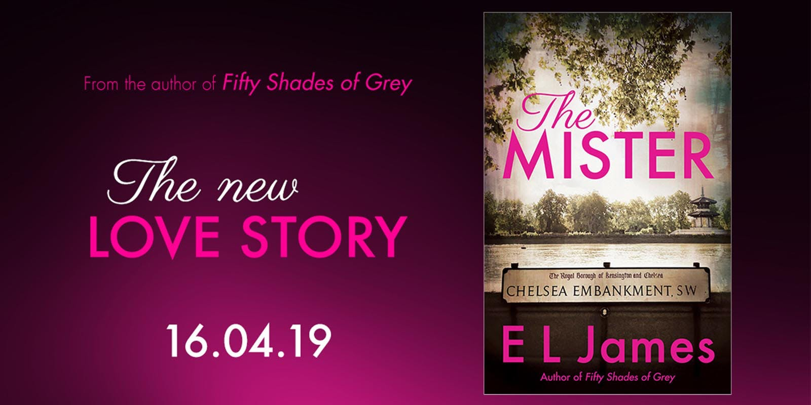 A new novel from E.L James