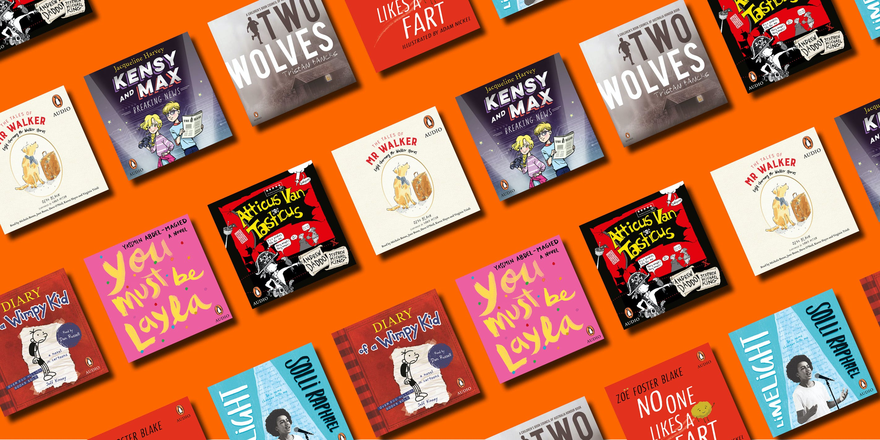 9 audiobooks for the whole family to enjoy