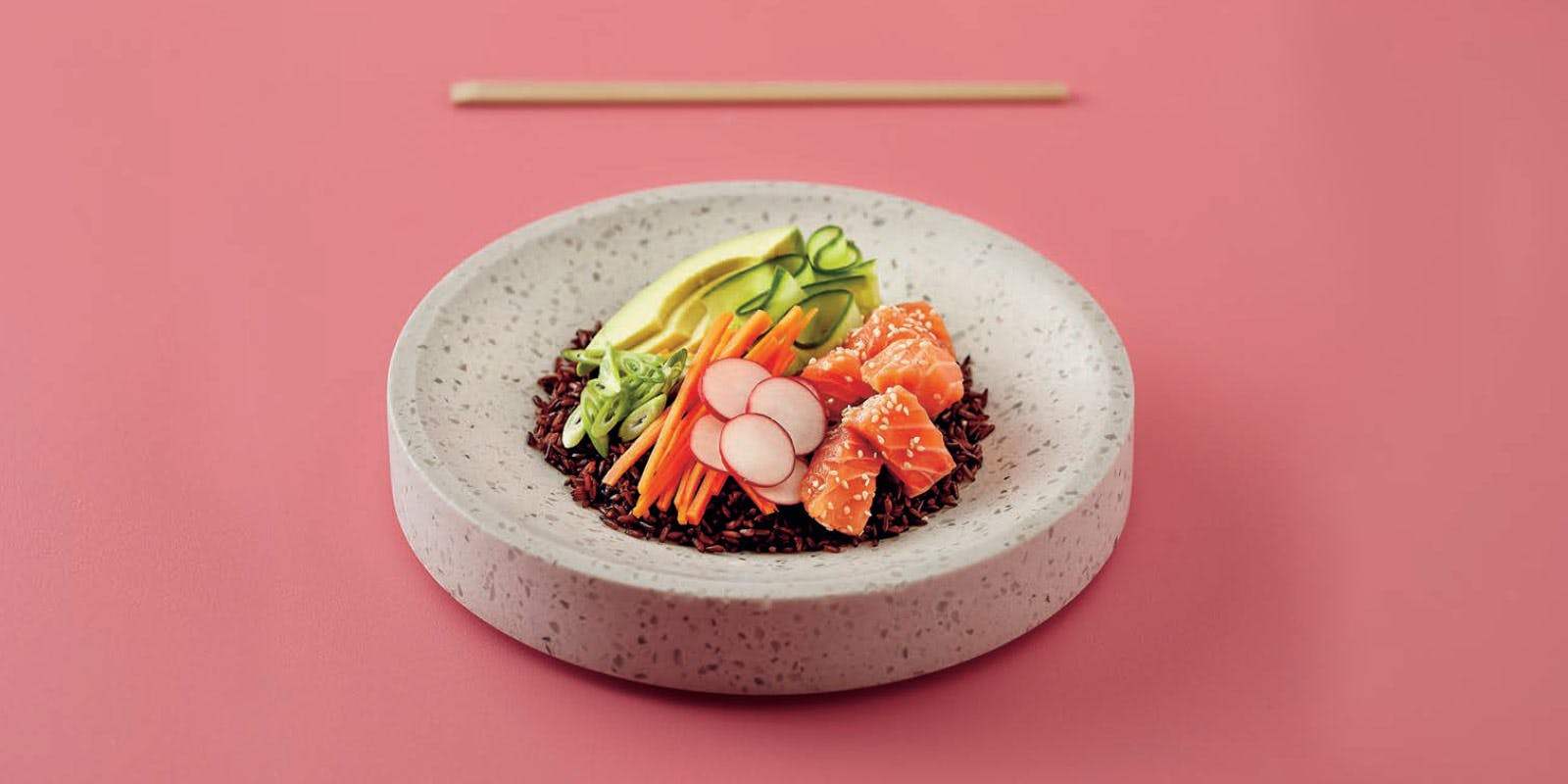 Build your own poke bowl
