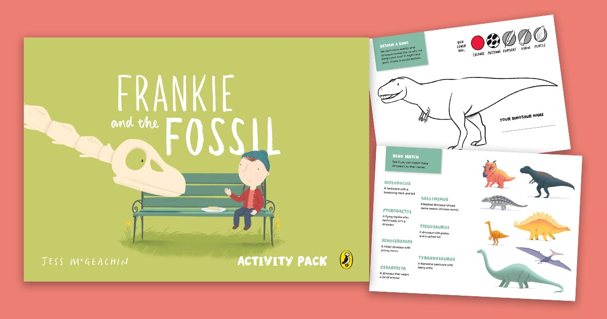 Frankie and the Fossil Activity Pack