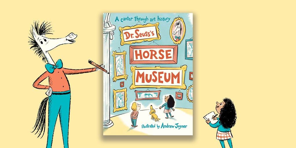 Dr Seuss's Horse Museum activity pack