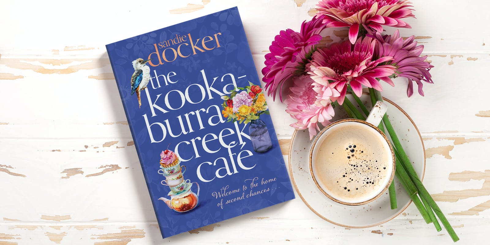 The Kookaburra Creek Café book club notes