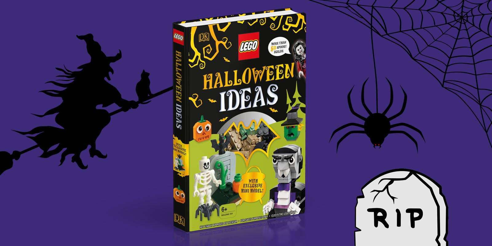 LEGO Halloween Ideas activity pack