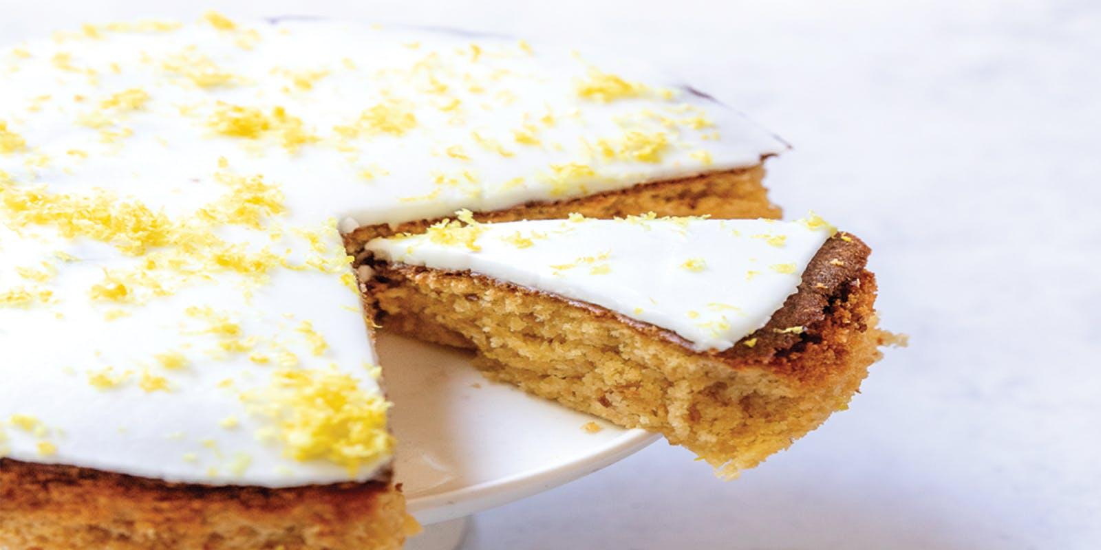Keto air fryer lemon pound cake