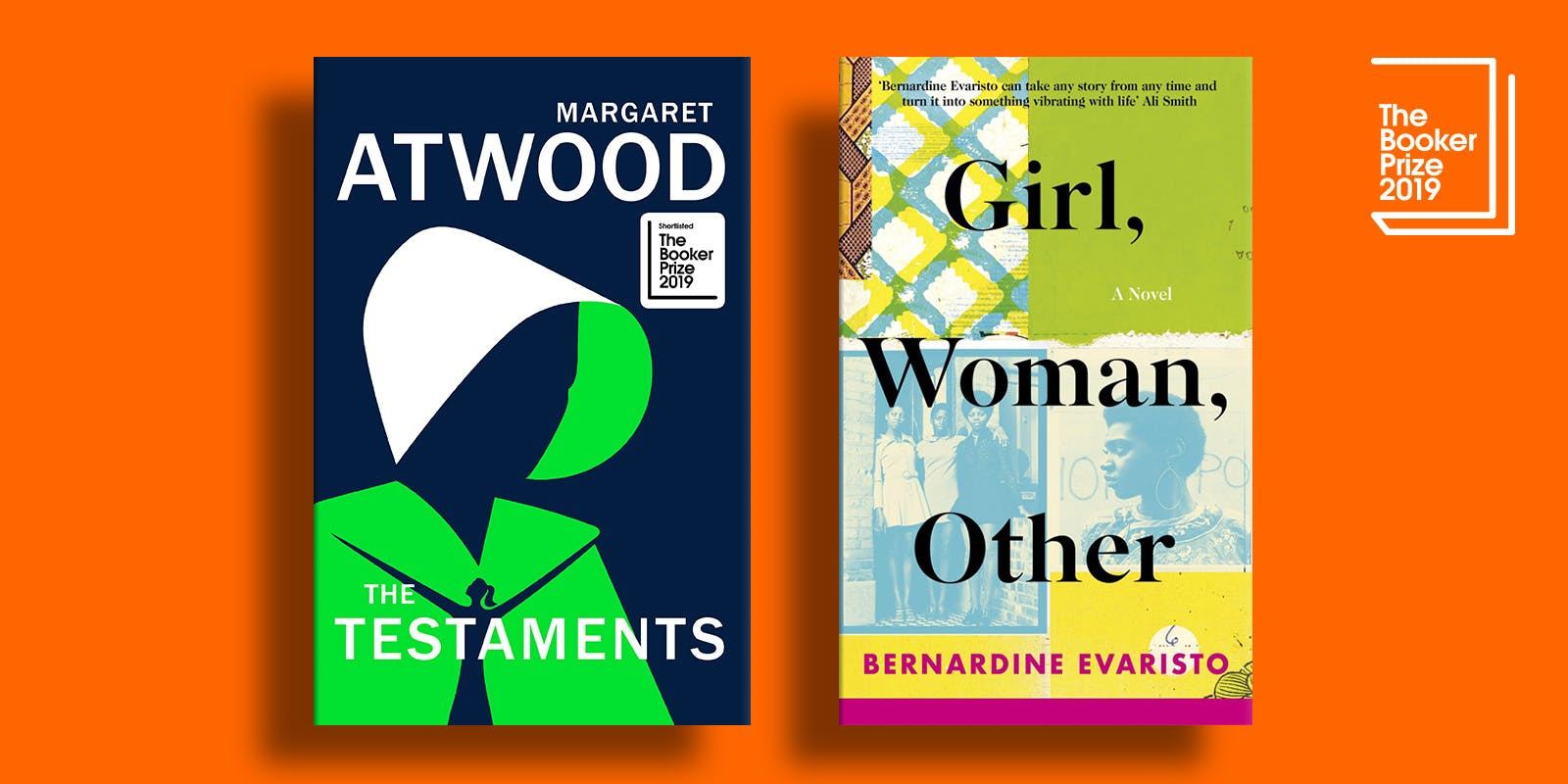 Atwood, Evaristo: joint Booker winners