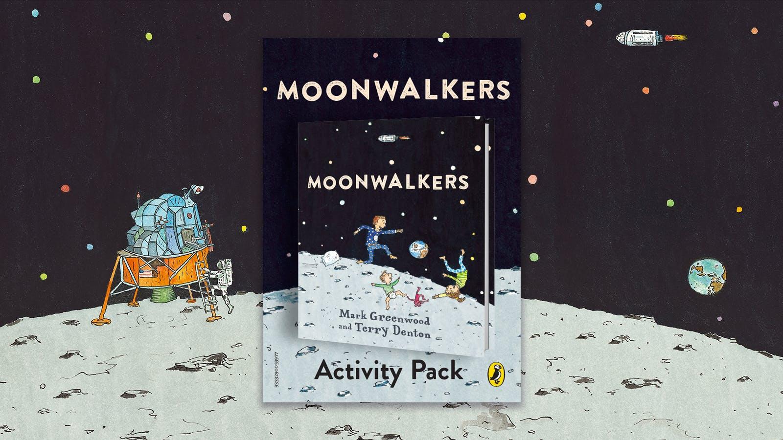 Moonwalkers activity pack