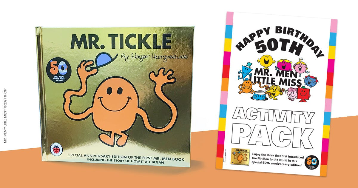 Mr Men 50th Anniversary Party Pack