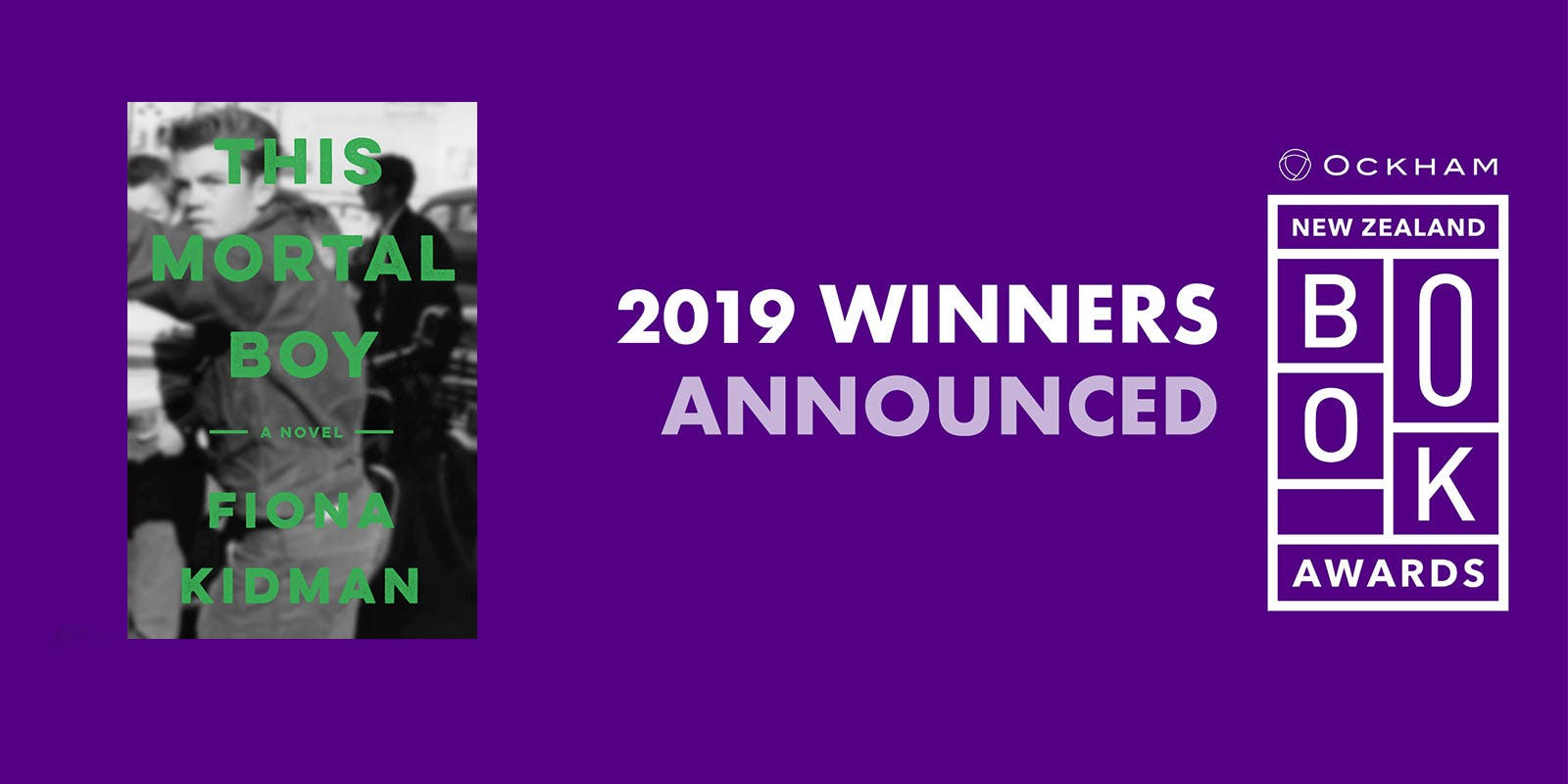 This Mortal Boy wins Ockham New Zealand Book Award