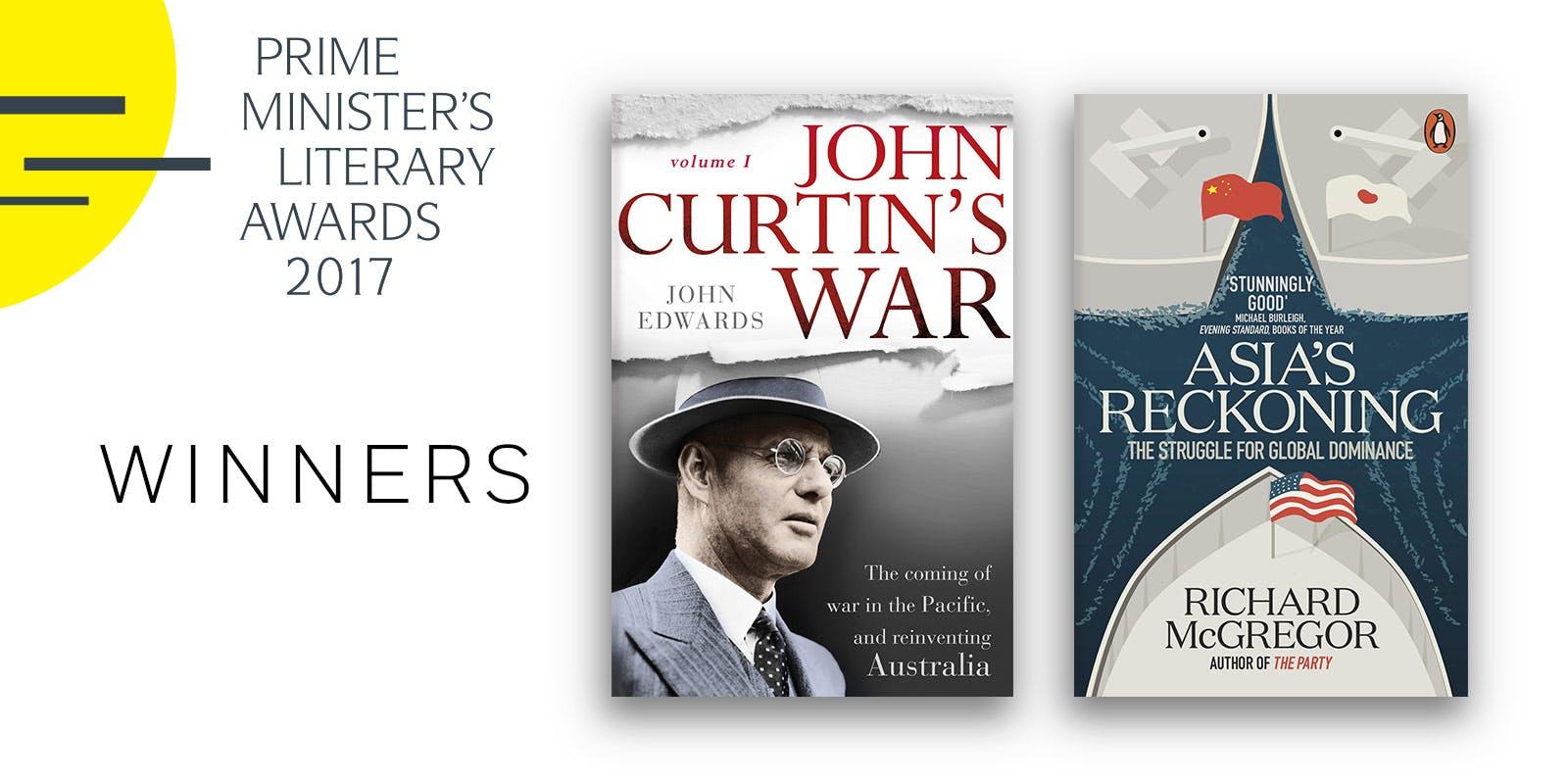 Prime Minister's Literary Award winners announced