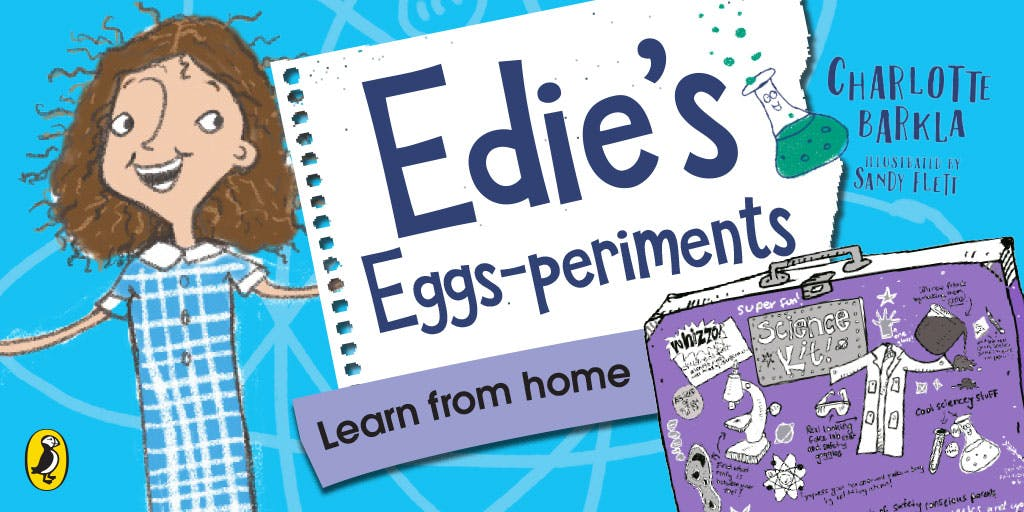 At home lesson: Edie's Easter eggs-periment