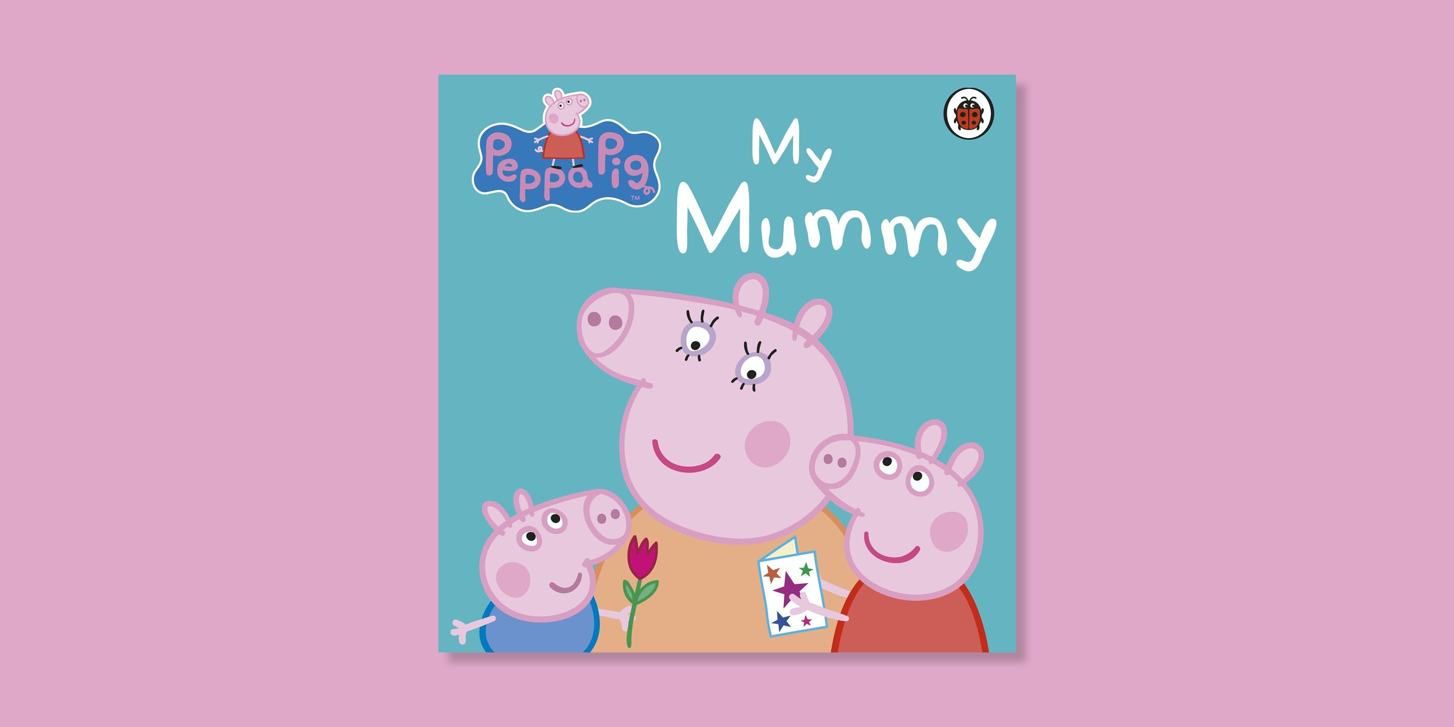 Peppa Pig Mother's Day card