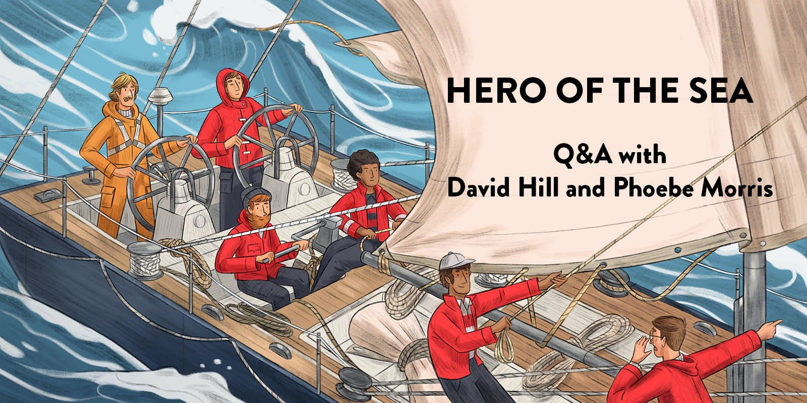 Q&A with David Hill and Phoebe Morris
