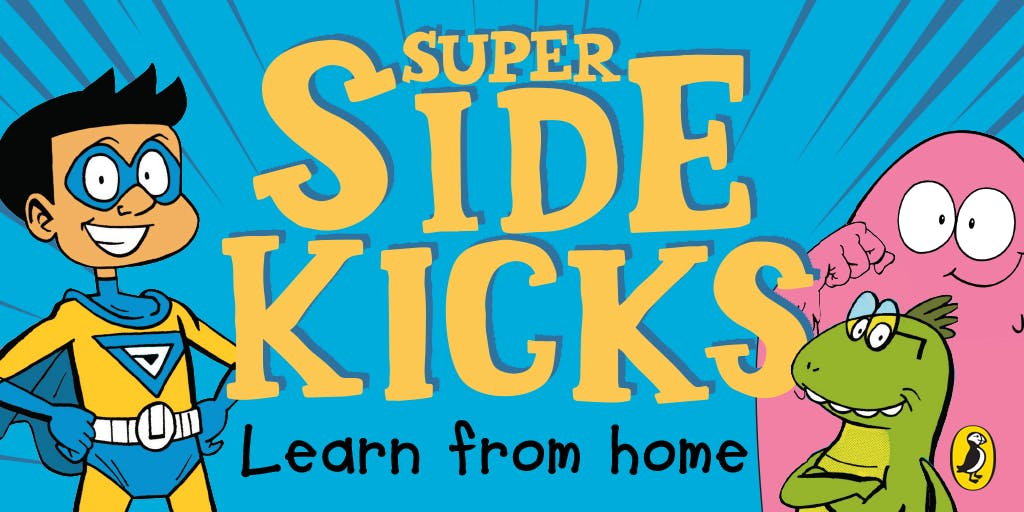 At home lesson: How to create a graphic novel with Super Sidekicks