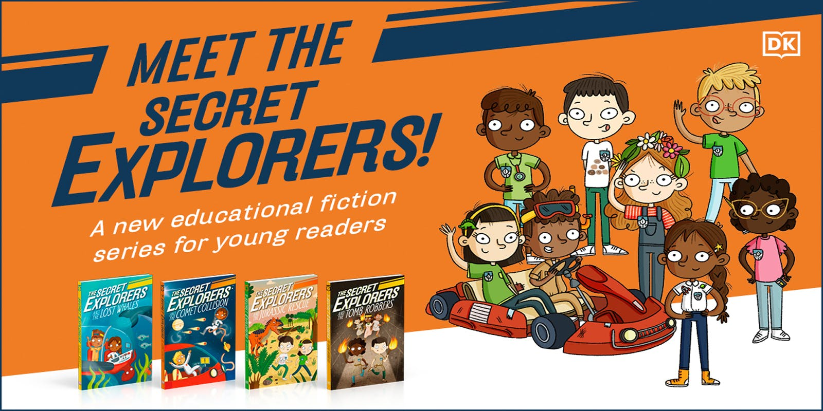 Meet The Secret Explorers