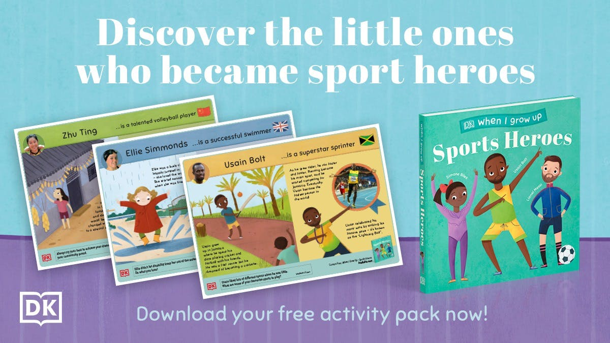 Sports Heroes activity pack