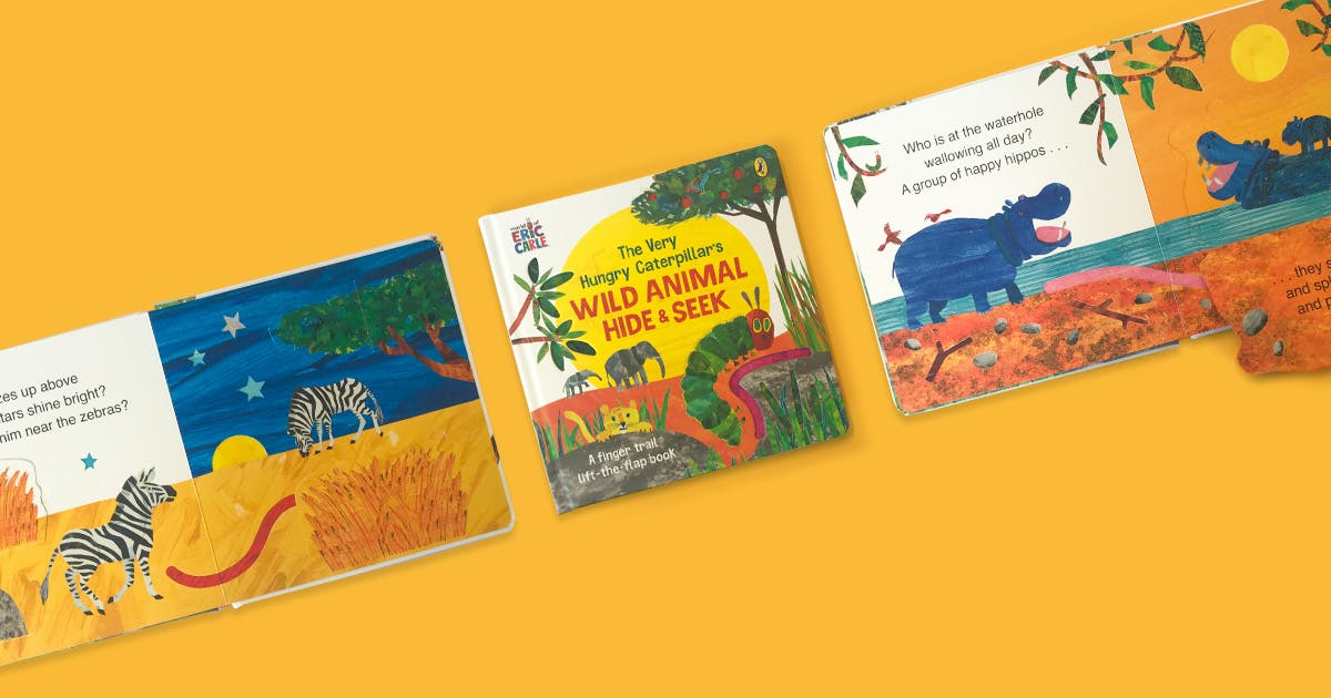 The Very Hungry Caterpillar's Wild Animal Hide and Seek activity pack