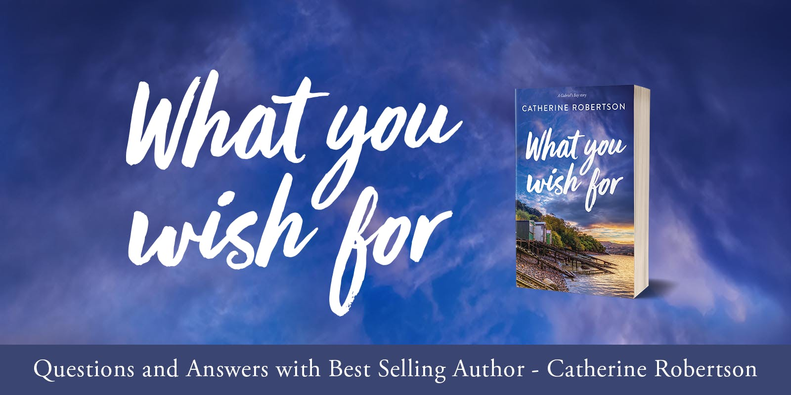 A conversation with Catherine Robertson