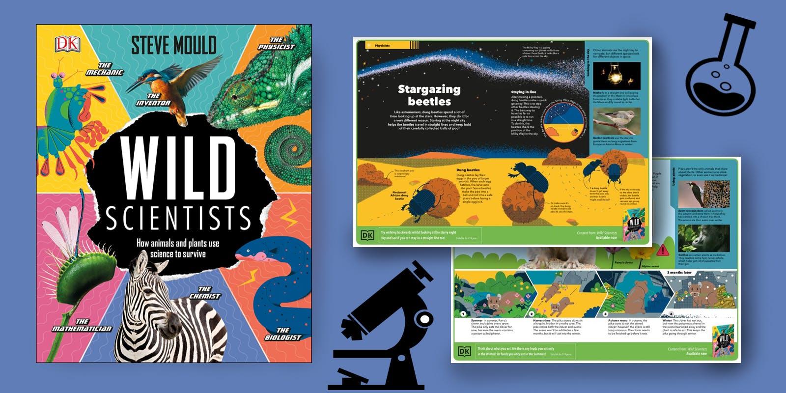 Wild Scientists activity pack