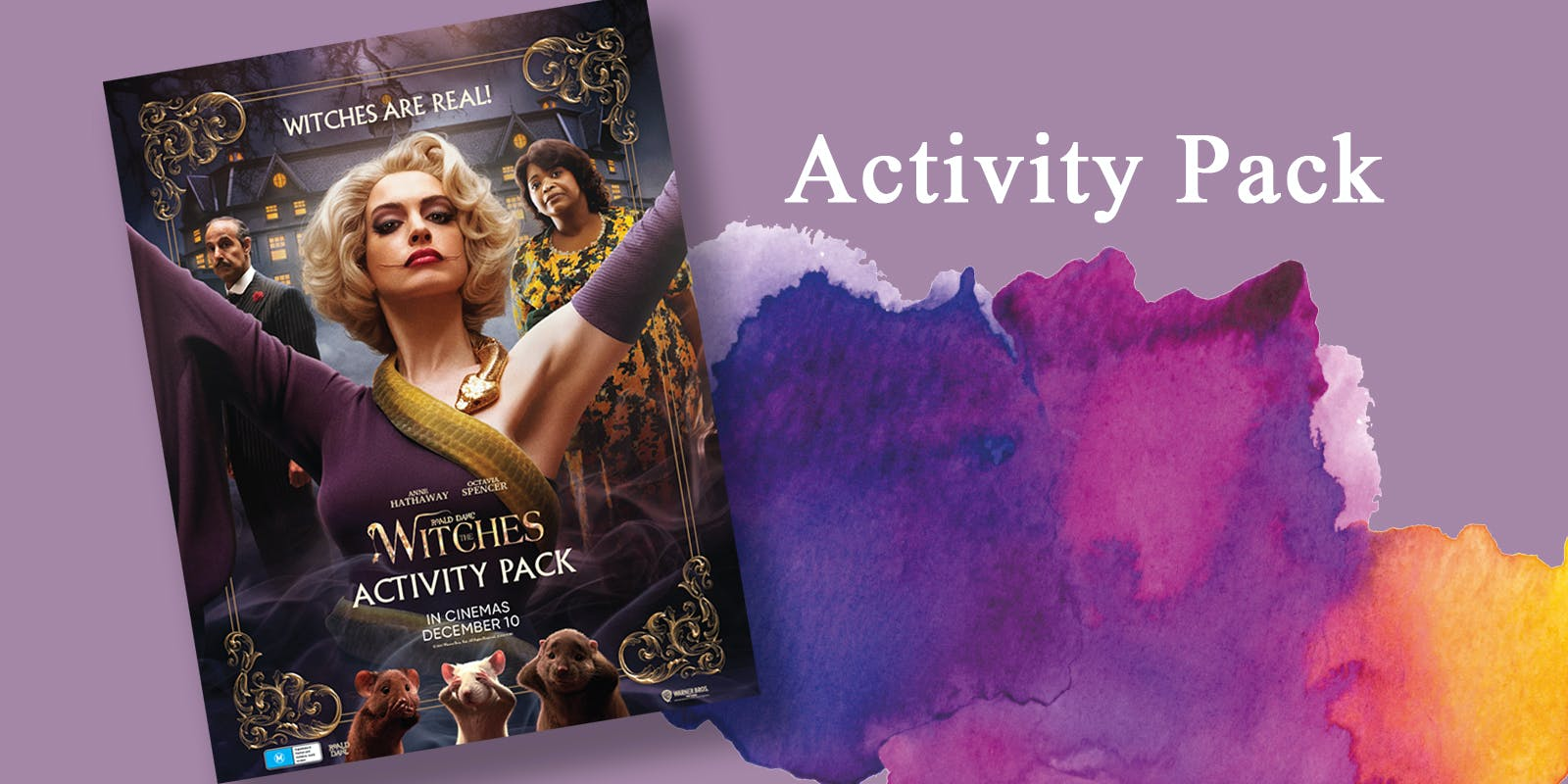 The Witches Activity Pack