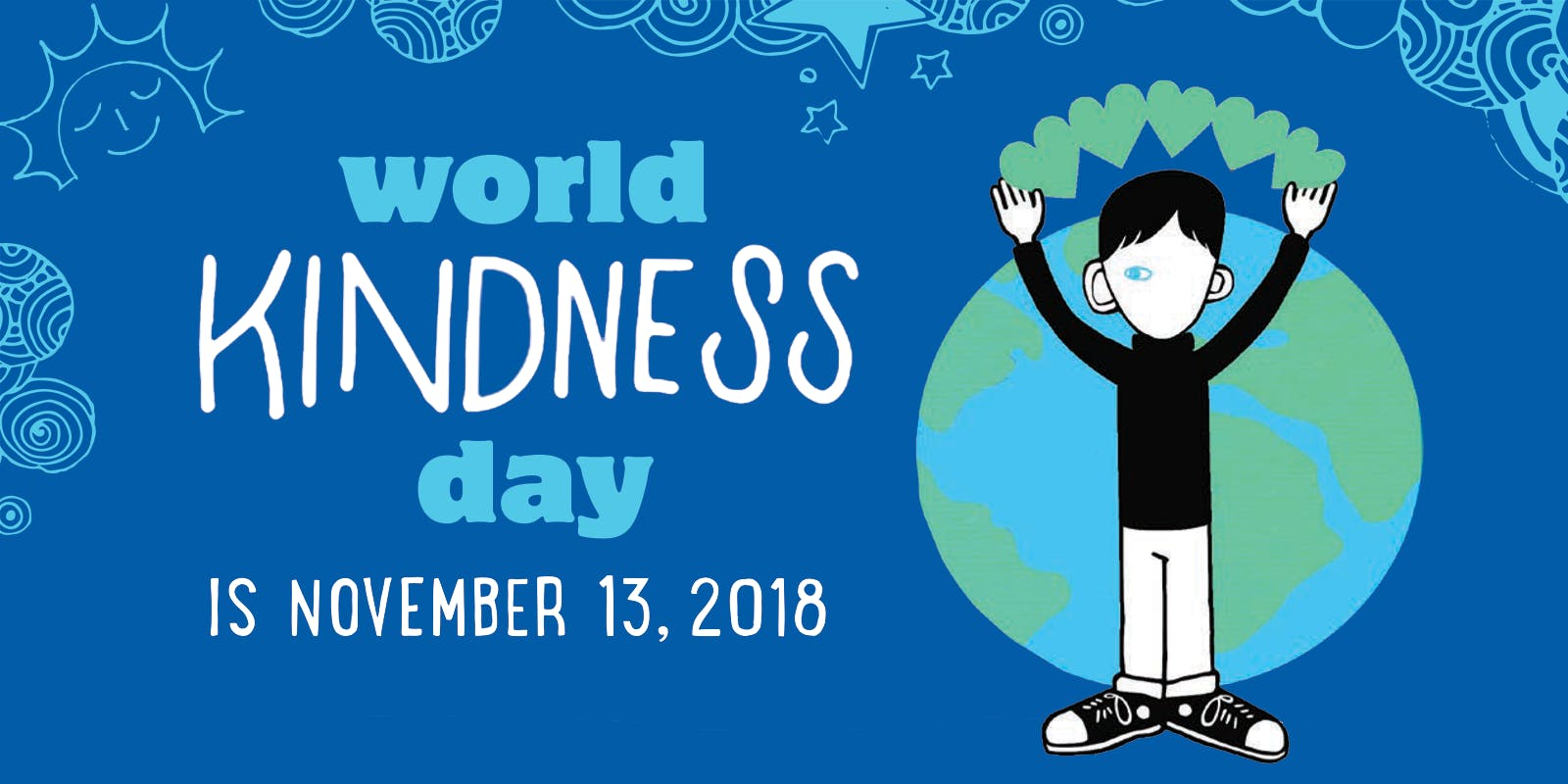 Celebrate World Kindness Day 2018 with Wonder