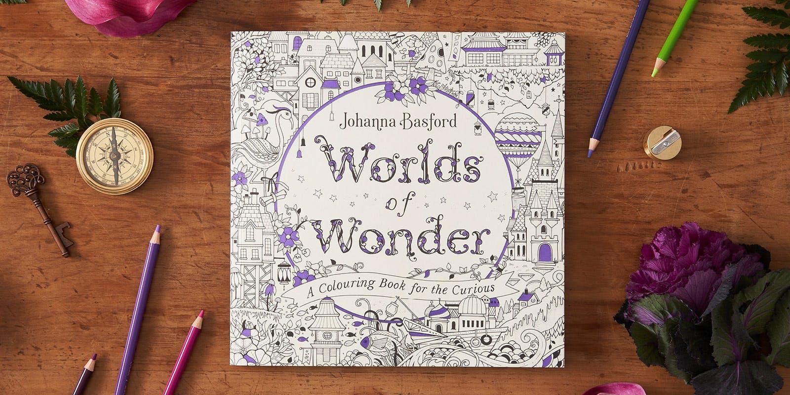 Worlds of Wonder colouring sheet