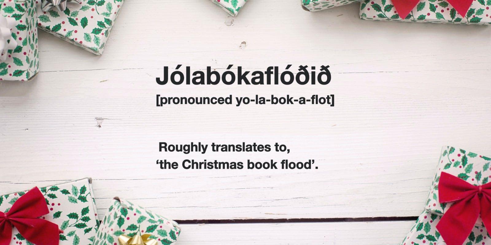 Jolabokaflod - Your new favourite Christmas tradition