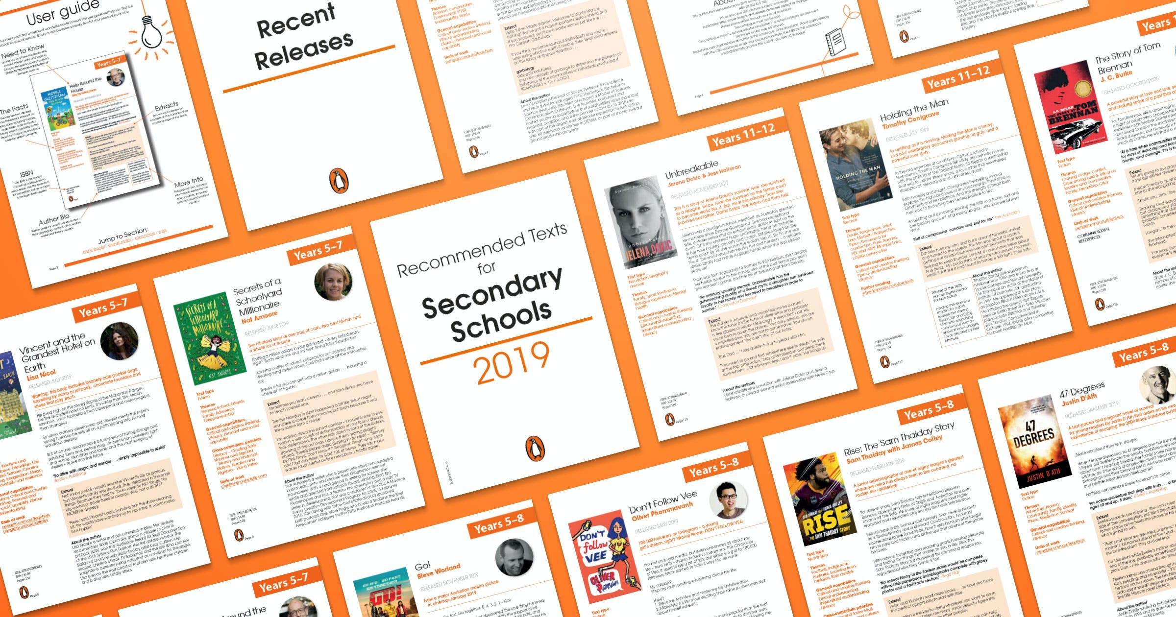 Penguin 2019 Secondary Catalogue