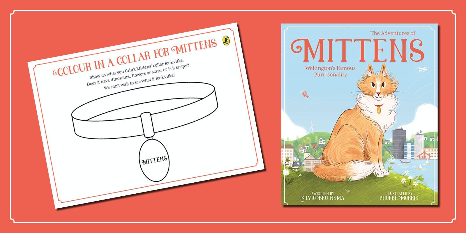 Design a collar for Mittens