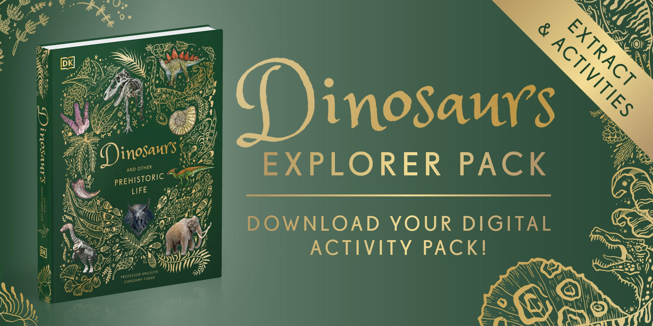 Dinosaurs and Other Prehistoric Life activity pack