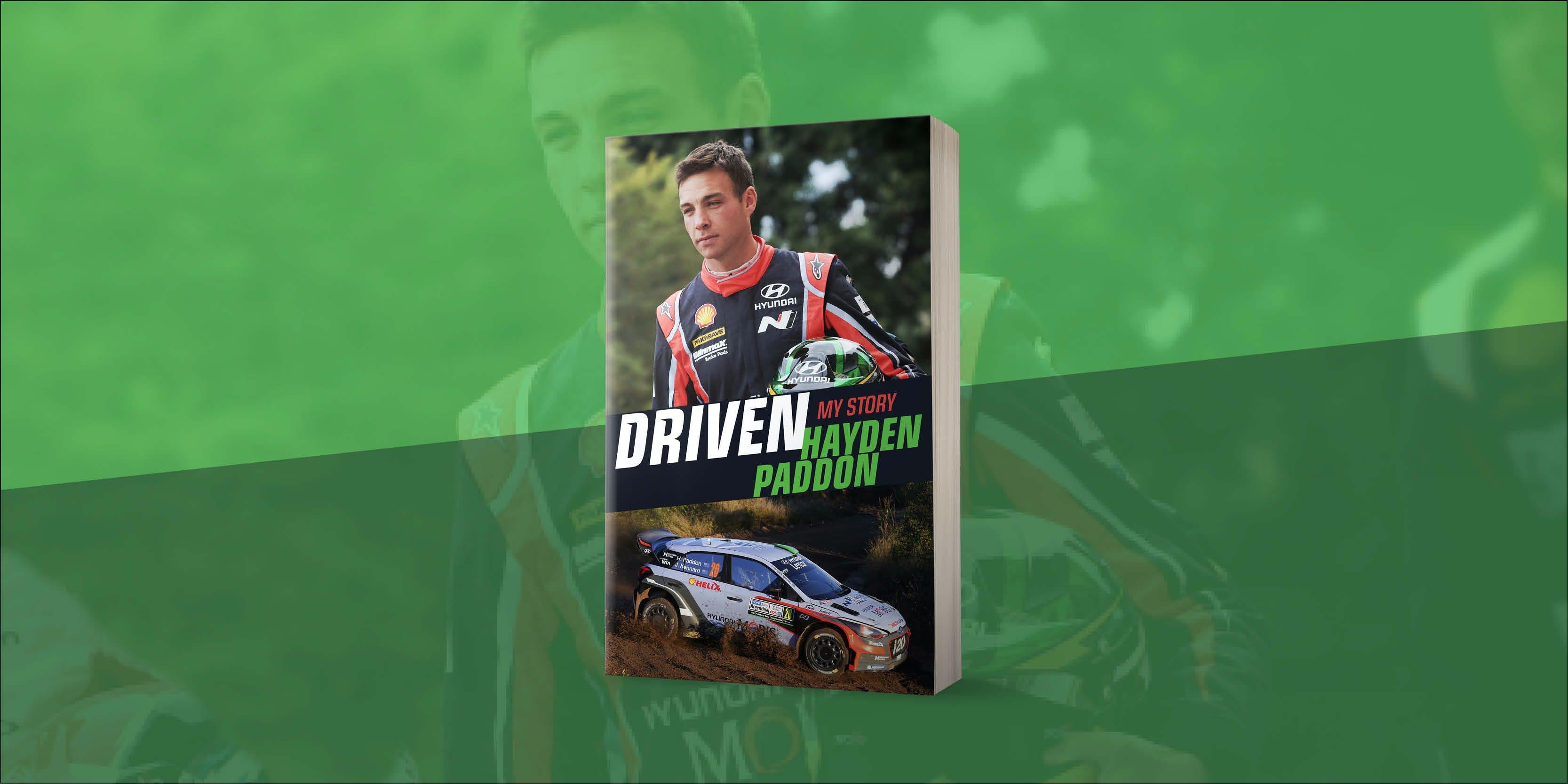 Explosive new autobiography from Hayden Paddon