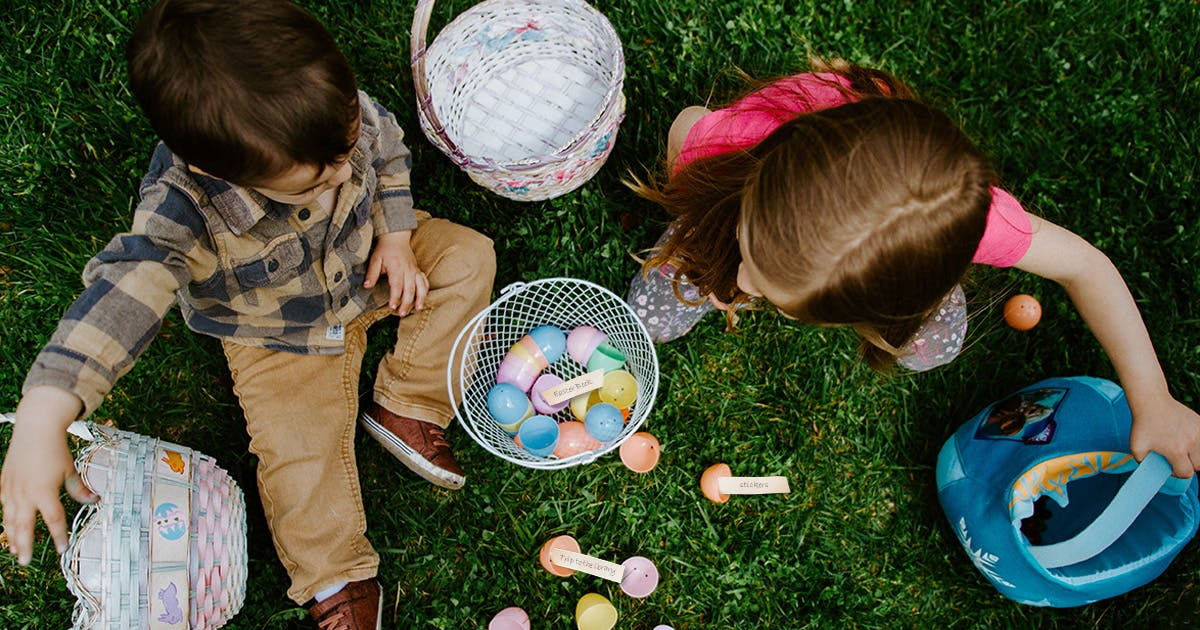 Creative ideas for your egg hunt this Easter