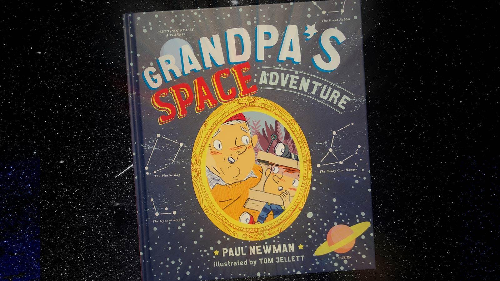 Grandpa's Space Adventure activity pack