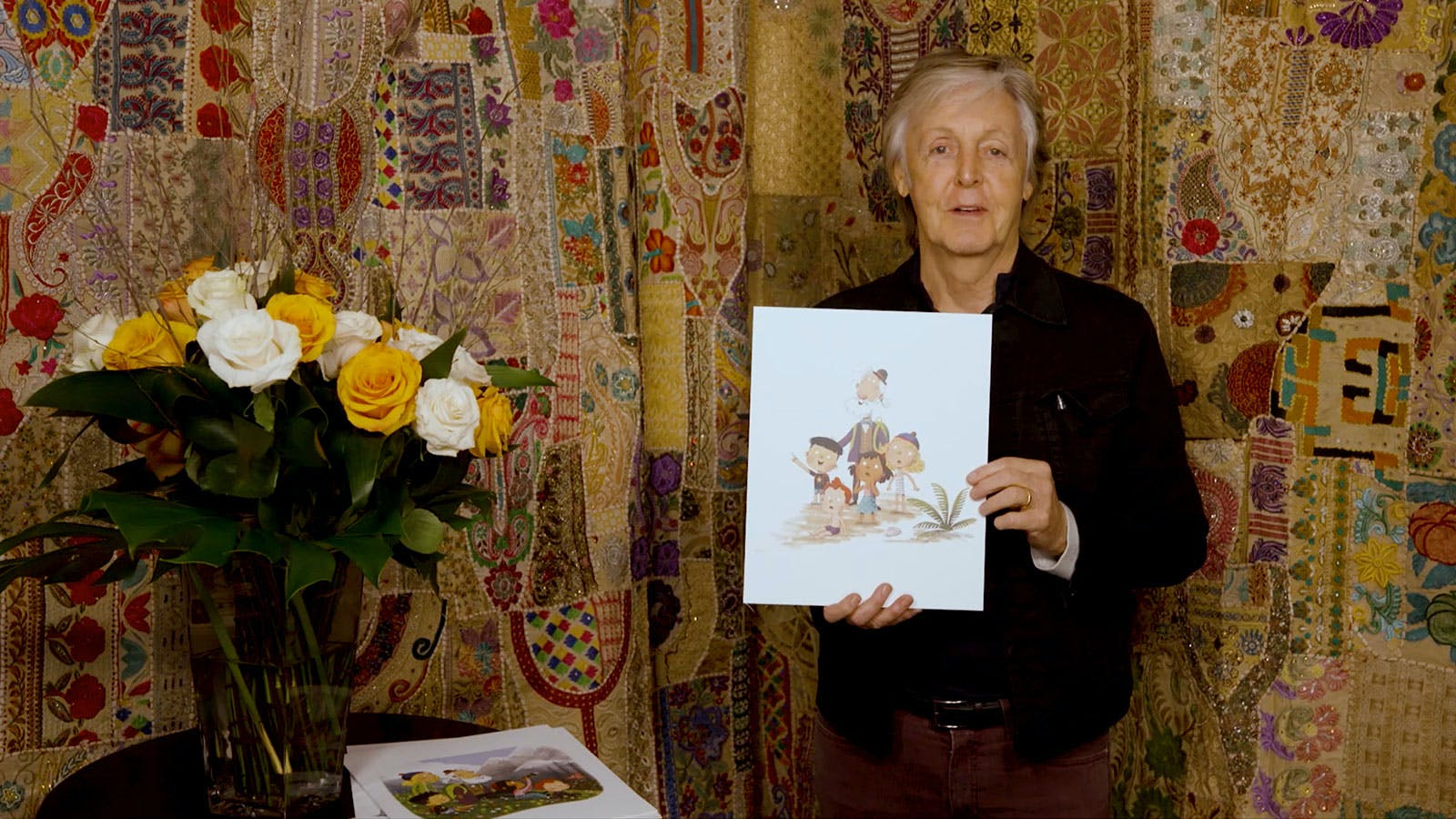 A first look at Paul McCartney's picture book Hey Grandude!