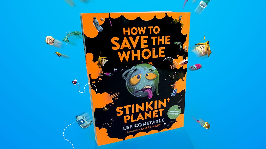 Saving the Whole Stinkin' Planet is a family affair