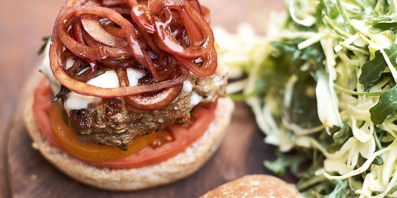 Jamie's Italian super-food burgers