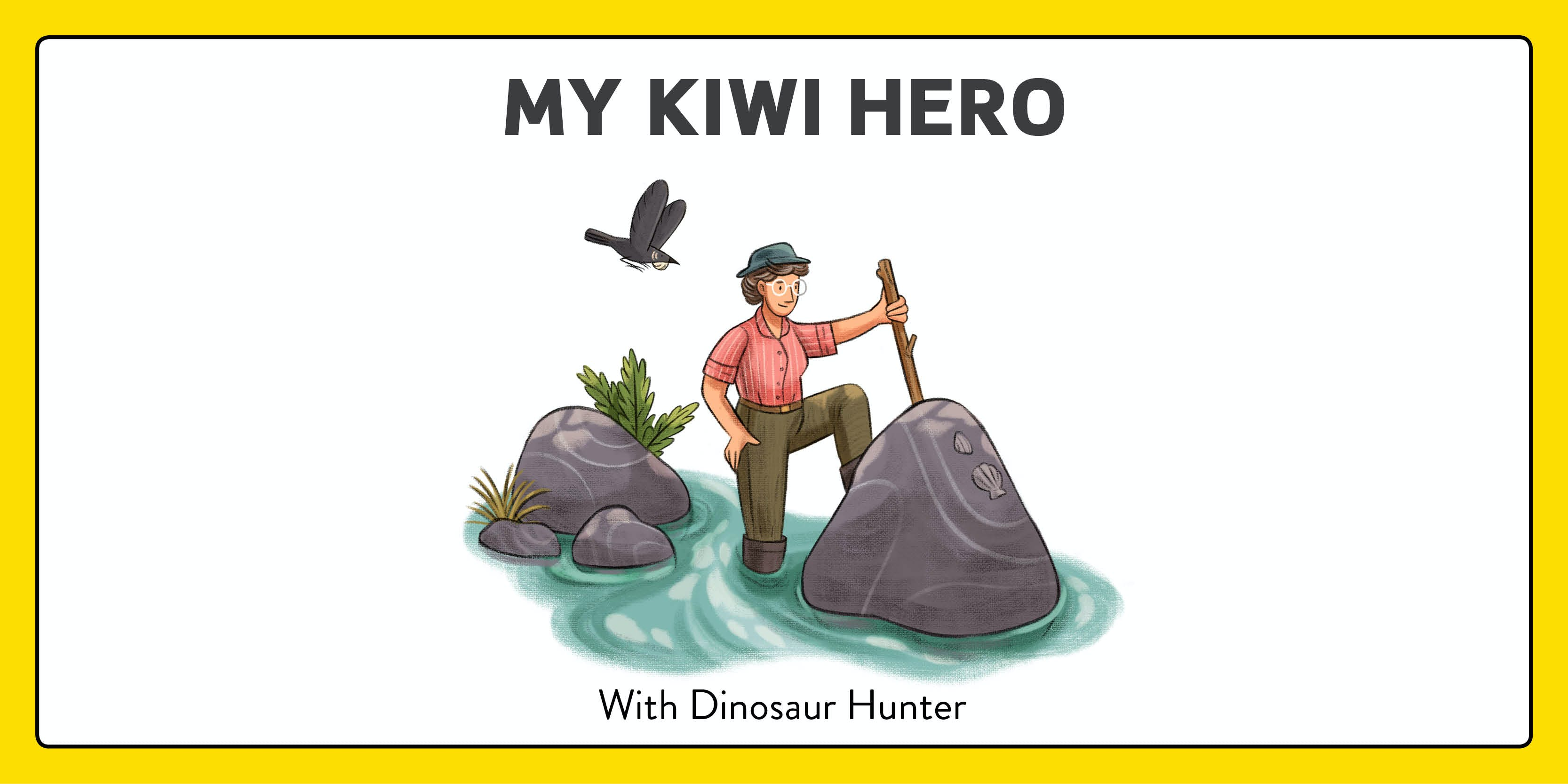 My Kiwi Hero - activity sheet!