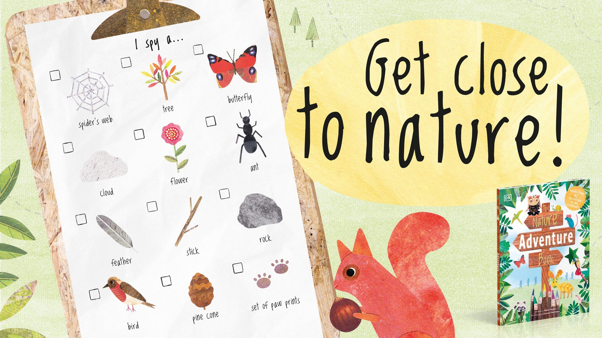 The Nature Adventure Book activity pack