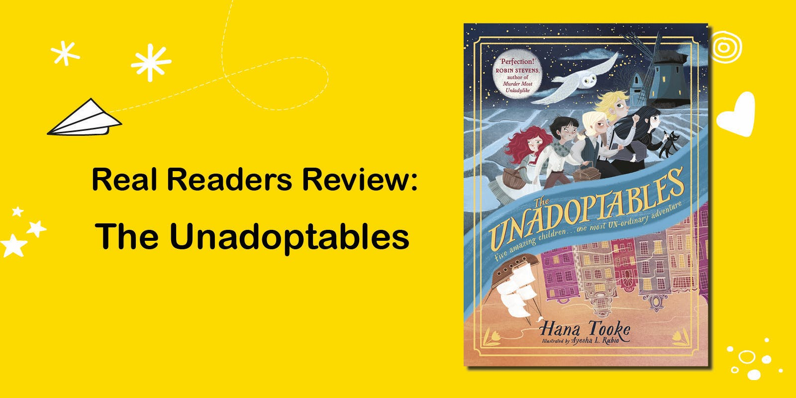 Real readers review: The Unadoptables